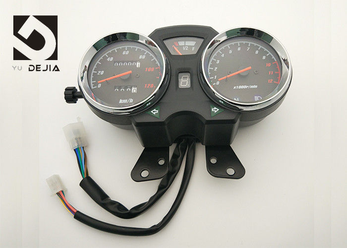 Cruising Motorcycle Digital Speedometer , Aftermarket Motorcycle Speedometer Tachometer