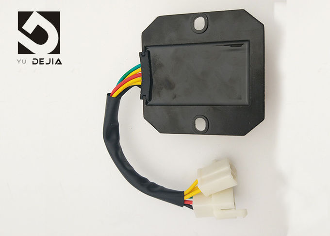 Motorcycle Electronic Rectifier Regulator Unit , 6 Wire Regulator Rectifier For Zongshen CH125